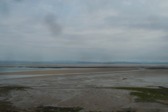 View across Morecambe Bay from Heysham