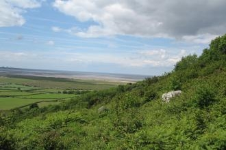 View from Warton Crag