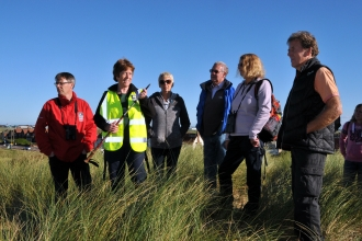 Fylde Sand Dunes Guided Walk ©Brian Jones