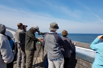 Sea Watch at Rossall Point