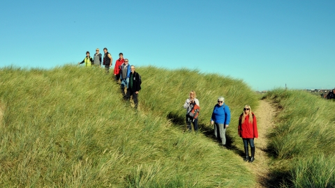 Sand Dunes Guided Walk