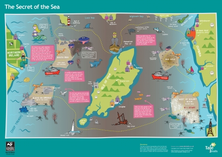 Secret of the Sea map